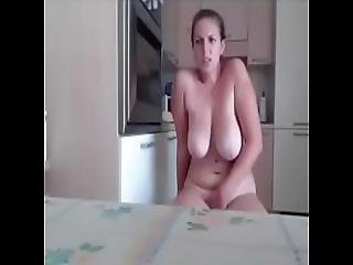 Fat Wife Gets Fucked On The Front Of The Cam