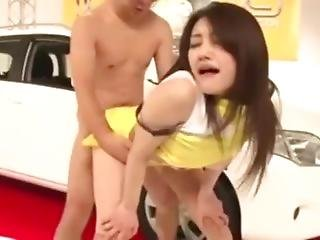 Azumi Mizushima Car Show Public Hot Sex