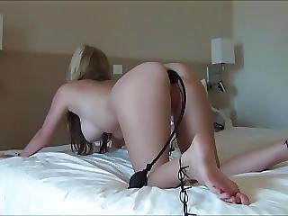 Cum Swallowing Anal Slut Sucks Dick And Get Her Ass Plugged