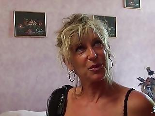 Cazzo Grande, Bionda, Sperma, Ricoperta Di Sperma, Sburrata, Francese, Matura