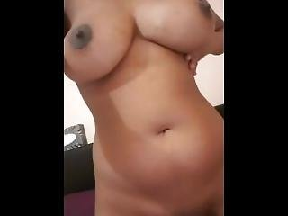 Asian Girlfriend Showing Off Her Big Natural Tits