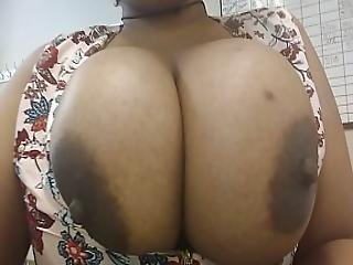 Taking My Tits Out At Work