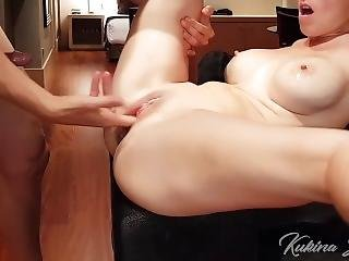 I Fuck Her And She Squirts Like Crazy And Then I Cum In Her Mouth
