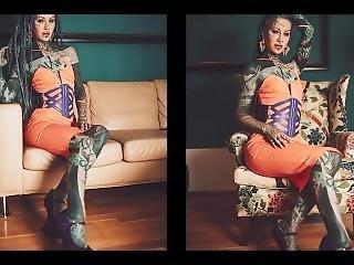 Goddess Anuskatzz Sexy Erotic Photoshooting / From Lily Lu Filmz
