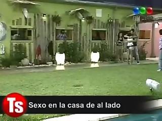 Sexo No Big Brother Da Argentina Com Ninfeta De 18 Anos