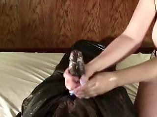Busty Redhead College Student Makes Black Cock Cum In 1 Minute