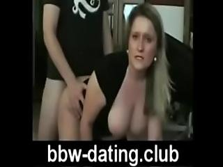Blonde Bbw Gets Anal