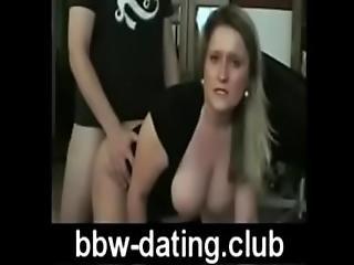 Blonde Bbw Gets Anal