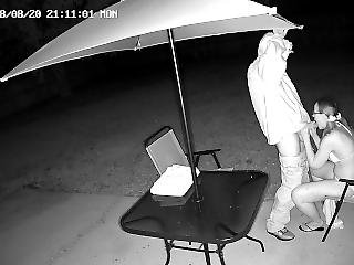 Wife Caught Cheating With Neighbor On Security Camera