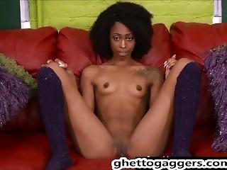 γλυκό μουνί Ebony