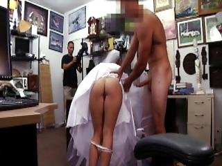 Xxx Pawn Bitter Bride Fucks Pawn Shop Owner After The Groom Cheats