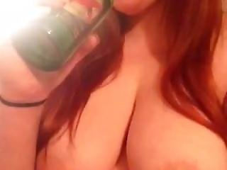 Blowing A Beer Bottle