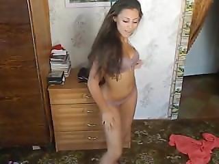 Teenage Students Dance Striptease Naked In College On Platinumwebcam.com