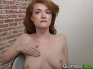 Redhead Rides Black Dong
