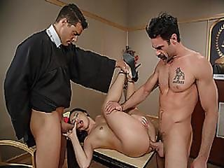 The Judge And The Jury Double Cock Penetrator