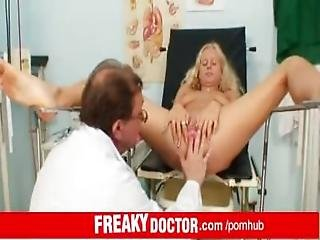 Angel Wicky A Hot Blonde At Dirty Doctor
