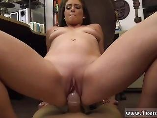 Brunette Tight Pussy Xxx Whips,handcuffs And A Face Full Of Cum.