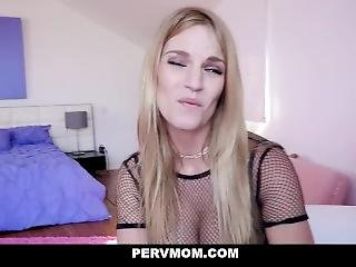 Pervmom - Sexy Cougar Gets Pounded By Stud Neighbor