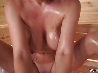 Brooke Little Joi Oiled Up Tits And Big Ass