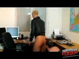 German Mistress Pussy Worship