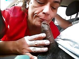 Michelle Sucks All The Cum