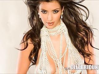 Sensational Kim Kardashian Nude Celeb Shaved Pussy Heaven