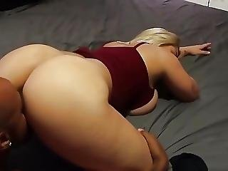 Big Tit Blonde Getting Fucked By Big Black Dick