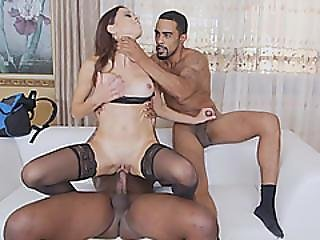 Eva Long Flawless Horny Milf In Double Lifting Penetration With Bbc