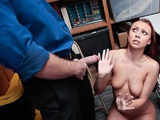 Officer In Charge Stripsearch Then Fucked Teen Pussy Hard
