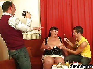 Mature Threesome Scene
