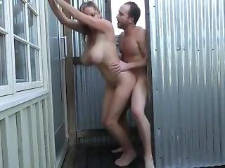 Big Ass Bathroom Outdoor Sex