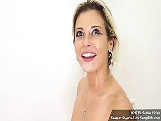 Hot Milf Alana Luv Sucking Off Multiple Dicks