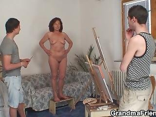Old Woman Sucking And Riding Boys Teen Cocks