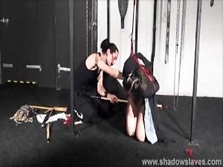 Whipped Asian Slavegirl Devils Teen Bdsm And Suspension Bondage Of Japanese Submissive In Hard Spanking And Restrained Oriental Domination