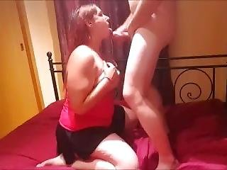 Recibiendo Una Buena Corrida En Las Tetas / Receiving A Cumshot In The Tits