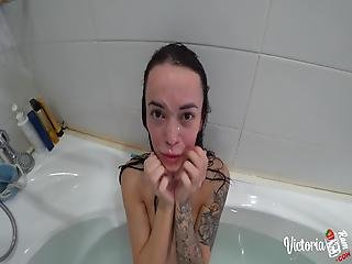 Baby Underwater Facefuck And Fucking Stepbrother