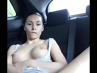 Public Masturbation In Car