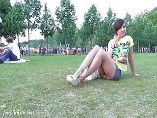 arsch, park, öffentlich, solo, Jugendliche