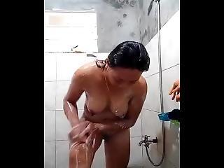 Horny Filipina Bath Hot Video