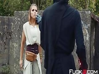 Adriana Chechik In Star Wars The Last Temptation 3