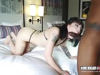 [american-pornstar] Charlotte Sartre - Goth Charlotte Anal Creampie (21.03.
