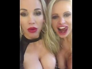 Rebecca More And Sophie Anderson Are A Couple Of Spunk Sluts Wanting Cock