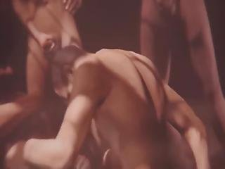 A Huge Public Orgy With Monsters In A Crowded Arena Beautiful Babes Facialized, Fucked, Deepthroating, Gangbanged, Rimming And Much More