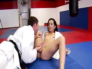 Nina Lee Is The Erotic Juijitsu Pussy This Likes Her Coach