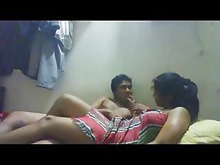 Cute Boobs Hot Bangla Girlfriend Blowjob N Fuck Video