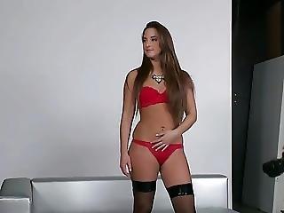Babe, Brunette, Cumshot, Double Penetration, Hardcore, Penetration