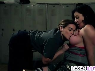 Lesbian Prison Guard Seduction