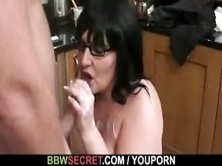 She Finds Him Fucking A Plump Bitch