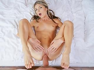 Little Gina Gerson Destroyed By A Giant Cock