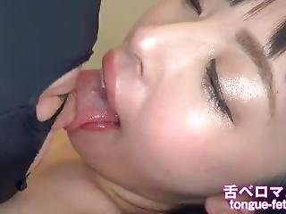 Japanese Gitl Spit And Pretty